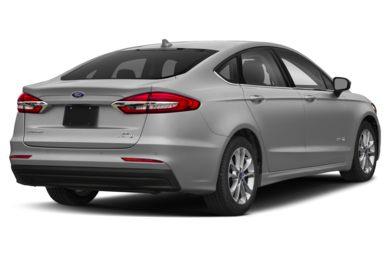 3 4 Rear Glamour 2019 Ford Fusion Hybrid
