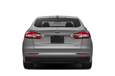 Rear Profile 2019 Ford Fusion Hybrid