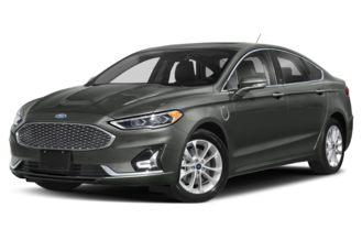 3/4 Front Glamour 2020 Ford Fusion Energi