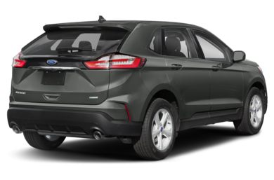 3/4 Rear Glamour  2019 Ford Edge