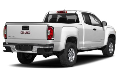 3/4 Rear Glamour  2019 GMC Canyon