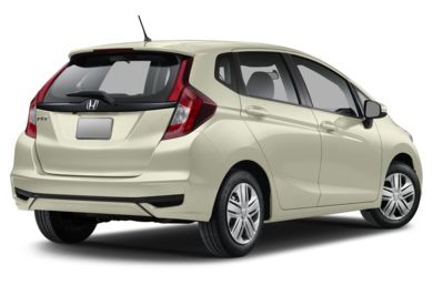 3/4 Rear Glamour  2019 Honda Fit