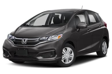 3/4 Front Glamour 2019 Honda Fit