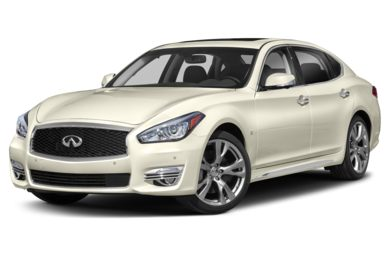 3/4 Front Glamour 2019 INFINITI Q70