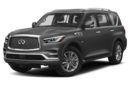 3/4 Front Glamour 2019 INFINITI QX80