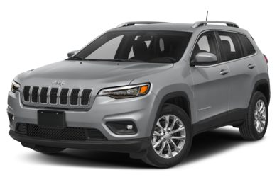 3/4 Front Glamour 2019 Jeep Cherokee