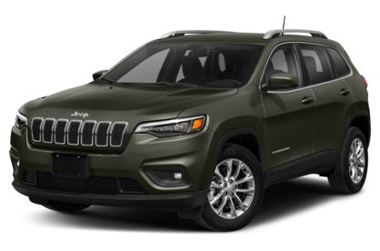 3/4 Front Glamour 2021 Jeep Cherokee