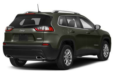 3/4 Rear Glamour  2019 Jeep Cherokee