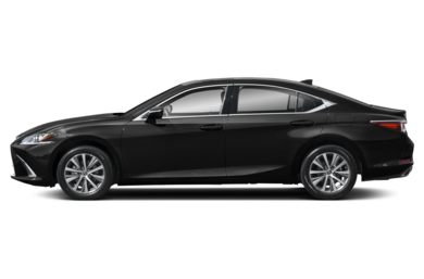 90 Degree Profile 2019 Lexus ES
