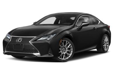 3/4 Front Glamour 2019 Lexus RC