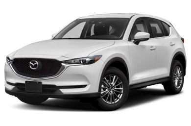 3/4 Front Glamour 2019 Mazda CX-5