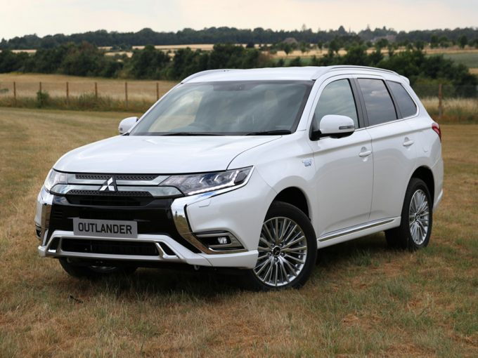 Mitsubishi Outlander Red