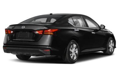 3/4 Rear Glamour  2019 Nissan Altima