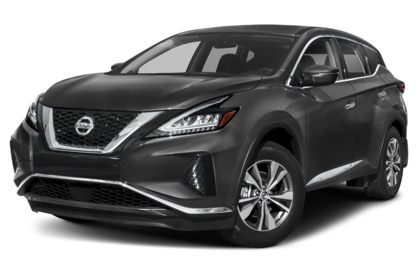 3/4 Front Glamour 2020 Nissan Murano