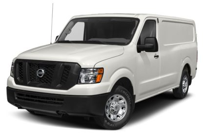 3/4 Front Glamour 2020 Nissan NV Cargo NV2500 HD