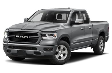 3/4 Front Glamour 2019 RAM 1500