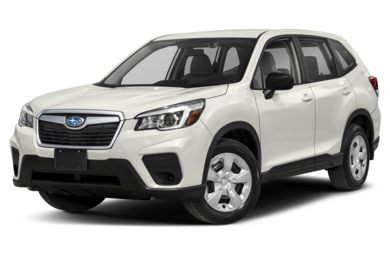 3/4 Front Glamour 2019 Subaru Forester