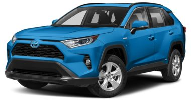 2020 Toyota Rav4 Hybrid Color Options Carsdirect
