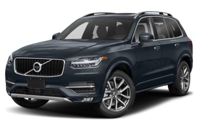 3/4 Front Glamour 2019 Volvo XC90