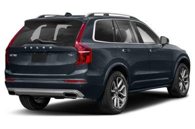 3/4 Rear Glamour  2019 Volvo XC90
