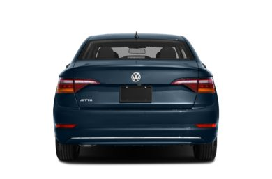 Rear Profile  2019 Volkswagen Jetta