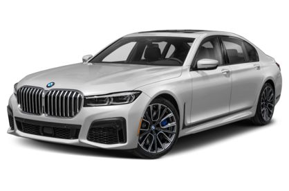3/4 Front Glamour 2021 BMW 7-Series