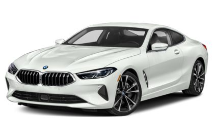 3/4 Front Glamour 2021 BMW 8-Series