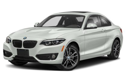 3/4 Front Glamour 2021 BMW 2-Series