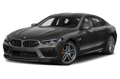 3/4 Front Glamour 2021 BMW M8