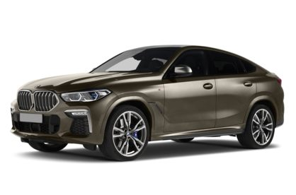 3/4 Front Glamour 2020 BMW X6