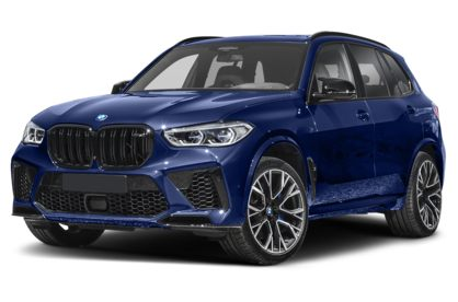 3/4 Front Glamour 2020 BMW X5 M