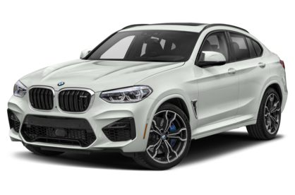 3/4 Front Glamour 2021 BMW X4 M
