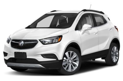 3/4 Front Glamour 2020 Buick Encore