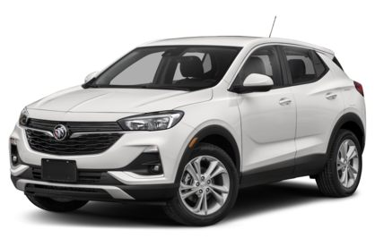 3/4 Front Glamour 2021 Buick Encore GX