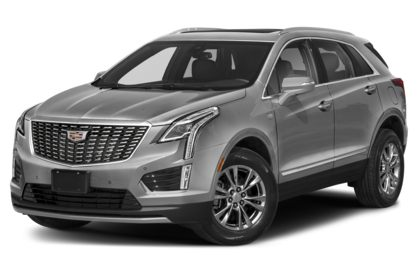 3/4 Front Glamour 2021 Cadillac XT5