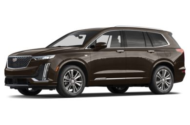 3/4 Front Glamour 2020 Cadillac XT6