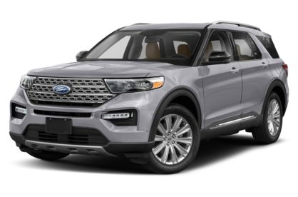 3/4 Front Glamour 2021 Ford Explorer