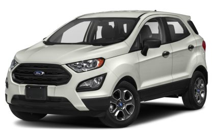 3/4 Front Glamour 2020 Ford EcoSport