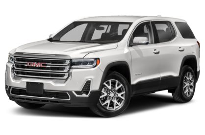 3/4 Front Glamour 2021 GMC Acadia