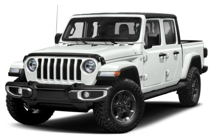 3/4 Front Glamour 2020 Jeep Gladiator