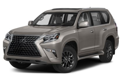 3/4 Front Glamour 2021 Lexus GX