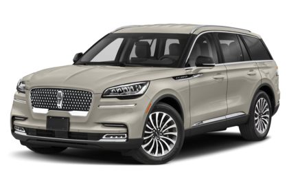 3/4 Front Glamour 2020 Lincoln Aviator