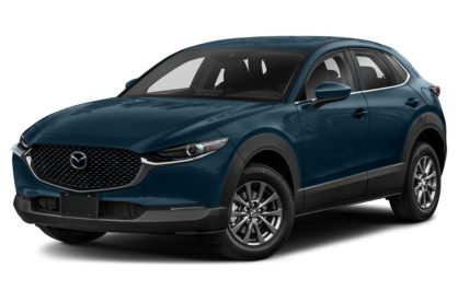 3/4 Front Glamour 2020 Mazda CX-30