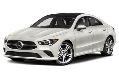 3/4 Front Glamour 2020 Mercedes-Benz CLA-Class