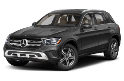 3/4 Front Glamour 2021 Mercedes-Benz GLC-Class