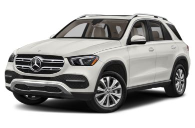 3/4 Front Glamour 2020 Mercedes-Benz GLE-Class