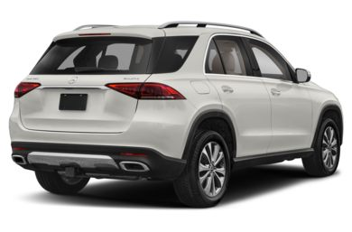 3/4 Rear Glamour  2020 Mercedes-Benz GLE-Class
