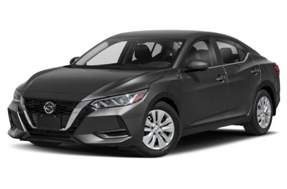 3/4 Front Glamour 2021 Nissan Sentra