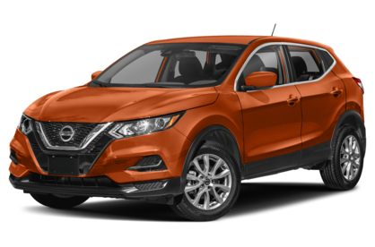 3/4 Front Glamour 2020 Nissan Rogue Sport