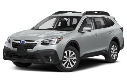 3/4 Front Glamour 2020 Subaru Outback